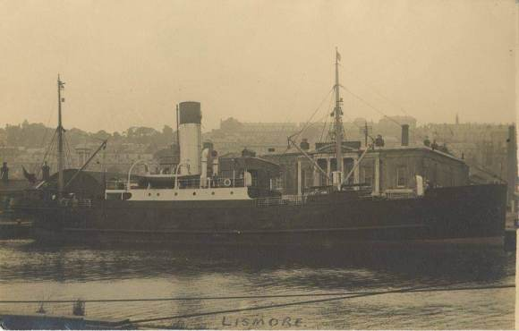 The SS Lismore. (Pic courtesy of Eimear Hogan)